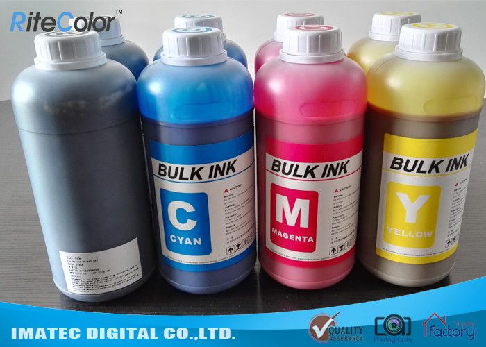 DX4 Printheads Odorless Eco Solvent Inks Outdoor Signage Display Printing