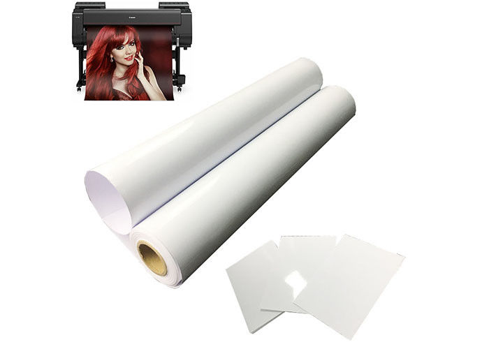 RC Resin Coated Photo Paper Roll 260gsm A4 Art Photo Paper For Digital Inkjet Printing Plotter