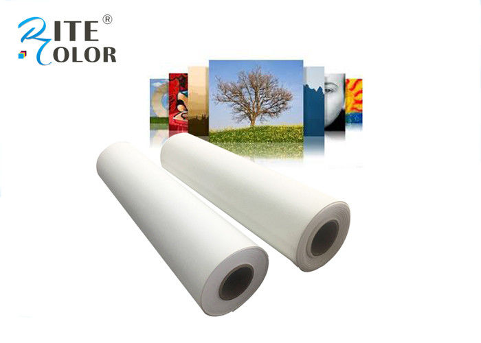 Eco Solvent Ink Matte Digital Printing Canvas Roll 380gsm For Printers